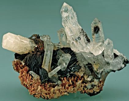 赤铁矿内部晶体结构图片